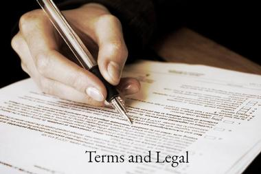Terms and legal of our finance and asset management business