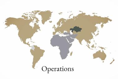 Map of Operations in asset management